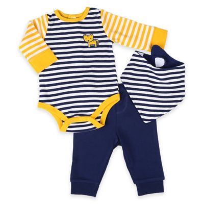 Navy Pant and Bib Set