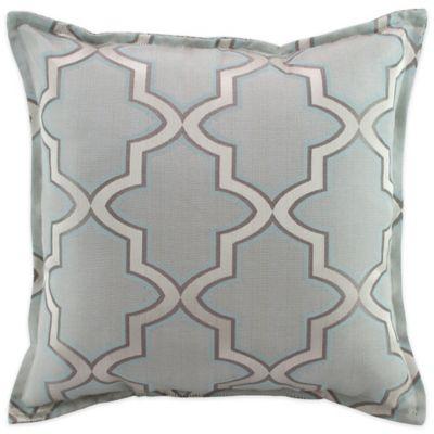 Spa Blue Throw Pillows