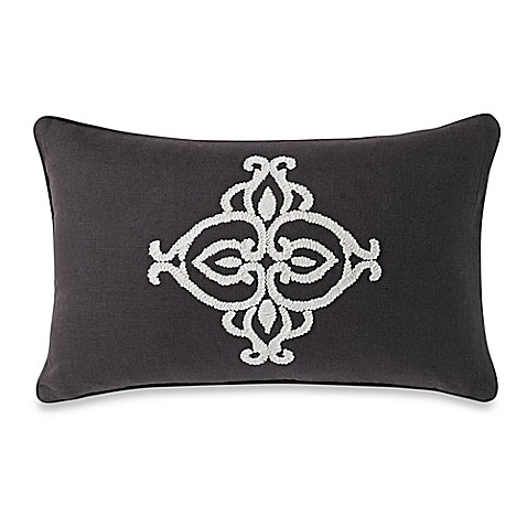 Down Alternative Decorative Pillows : Buy Wamsutta Essex Down Alternative Breakfast Throw Pillow in Ivory from Bed Bath & Beyond