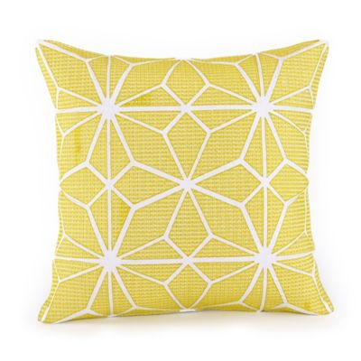 Trina Turk® Giraffe Mojave Square Throw Pillow in Citron