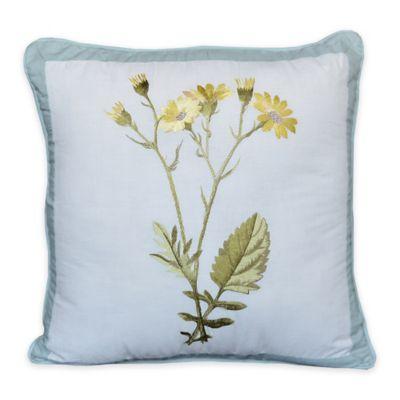 Nostalgia Home™ Josephine Square Throw Pillow in Yellow