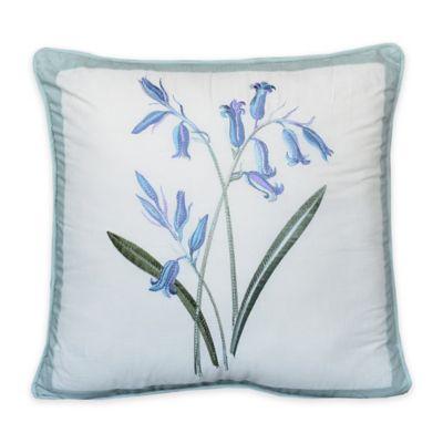 Nostalgia Home™ Josephine Square Throw Pillow in Blue