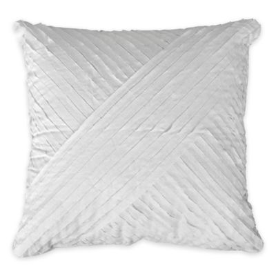 Petals Square Throw Pillow