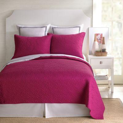 Trina Turk® Santorini Standard Pillow Sham in Fuchsia