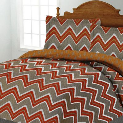 Orange and Blue Quilts