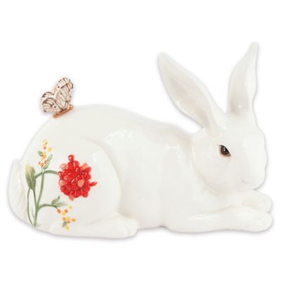 Fitz and Floyd® Flower Market Reclining Rabbit Figurine