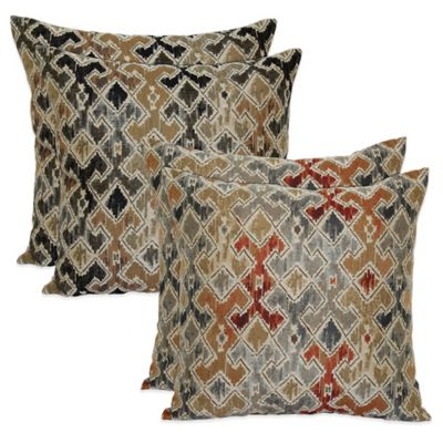 Keeva Pillow in Rust (Set of 2)