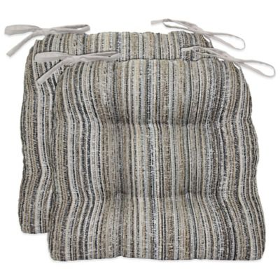 Waterfall Cornerstone Chair Pads in Grey (Set of 2)
