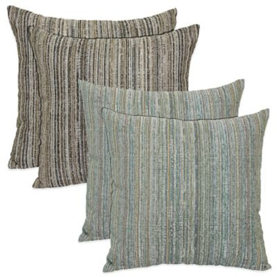 Tipps Cornerstone Pillows in Blue (Set of 2)