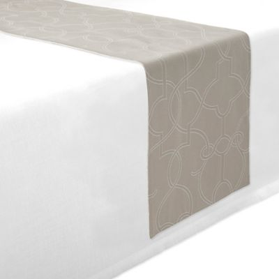 Waterford® Linens Marilla 70-Inch Table Runner in White