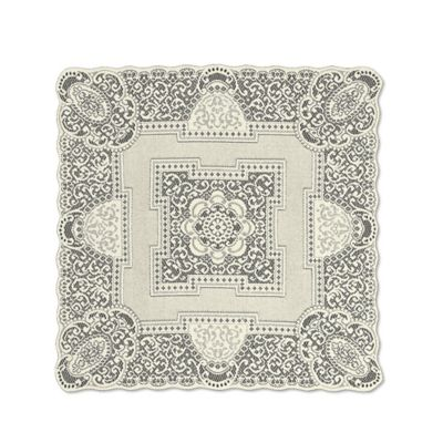 Heritage Lace® Canterbury 36-Inch Table Topper in White
