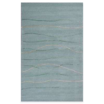 KAS Transitions 3-Foot 3-Inch x 5-Foot 3-Inch Area Rug in Ocean Landscape