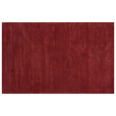 KAS Transitions 3-Foot 3-Inch x 5-Foot 3-Inch Area Rug in Brick Red Horizon