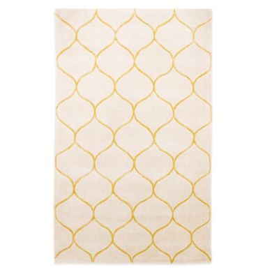 KAS Transitions 3-Foot 3-Inch x 5-Foot 3-Inch Area Rug in Ivory Harmony
