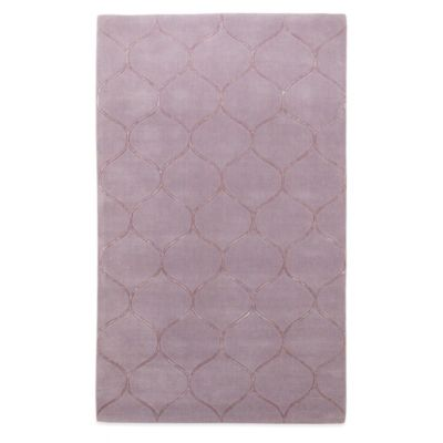 KAS Transitions 5-Foot x 8-Foot Area Rug in Lavender Harmony