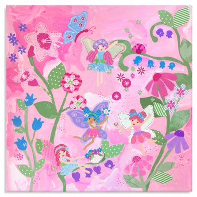 Oopsy Daisy Too Flower Fairies Canvas Wall Art