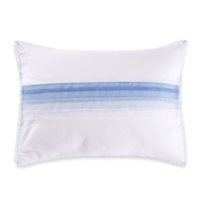 Vera Wang™ Chiffon Flower Organdy Pleated Breakfast Throw Pillow
