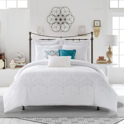 Anthology™ Scarlet Full/Queen Duvet Cover Set in Teal