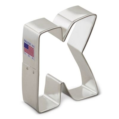 """3-Inch Letter """"A Cookie Cutter"""