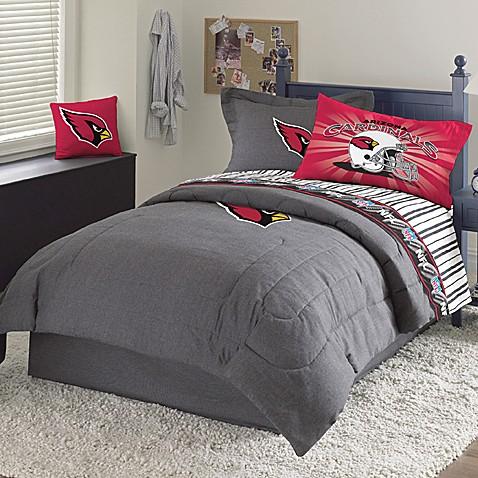 Nfl Arizona Cardinals Queen Comforter Set Bed Bath Amp Beyond