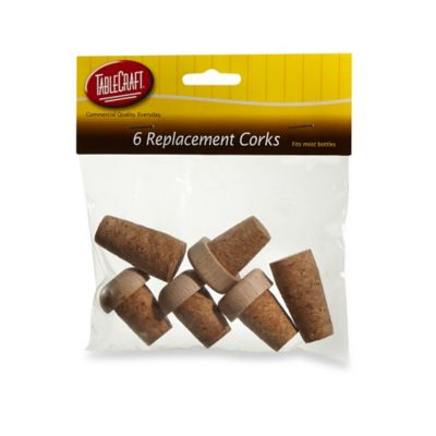 6-Pack Replacement Corks