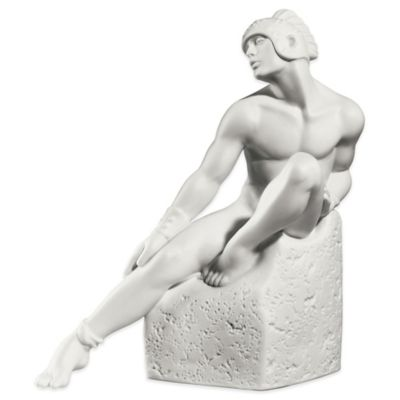 Royal Copenhagen Zodiac Male Pisces Figurine