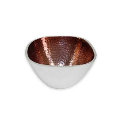 Brown Square Bowl