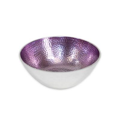 Purple Round Bowl