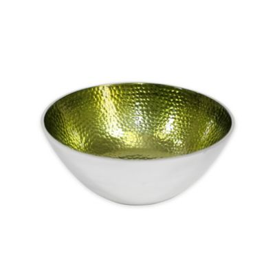 Pampa Bay Bella Small Round Bowls in Green (Set of 3)