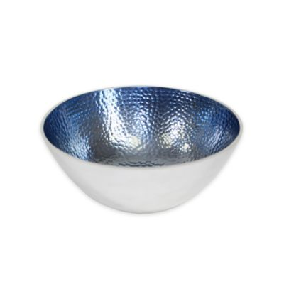 Pampa Bay Bella Small Round Bowls in Blue (Set of 3)
