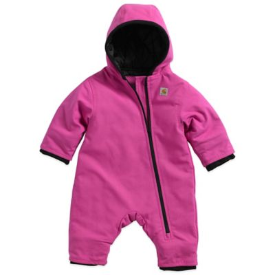 Carhartt® Size 24M Quick Duck® Snowsuit in Pink