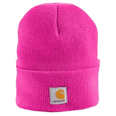 Carhartt® Knit Hat with Cuff in Pink