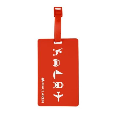 Maclaren London Buggy ID Tag in Red
