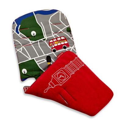 Maclaren London City Map Universal Stroller Seat Liner