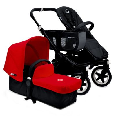 Bugaboo Donkey 2015 Base Stroller in Black/Black