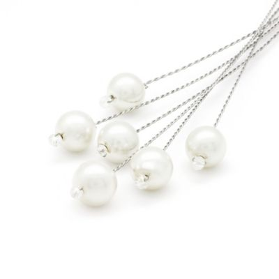 Amy O. Bridal Pearl Bouquet Jewelry