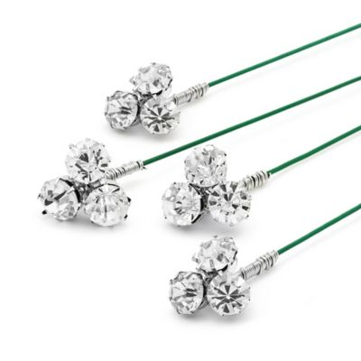 Amy O. Bridal Crystal Bouquet Jewelry (Set of 4)