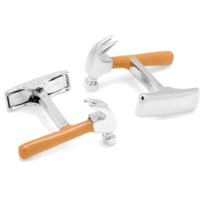 Sterling Silver Hammer Cufflinks