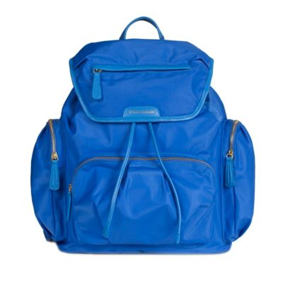 TWELVElittle Allure Backpack Diaper Bag in Sapphire