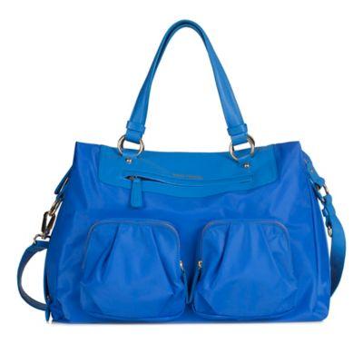 TWELVElittle Allure Convertible Satchel Diaper Bag in Sapphire