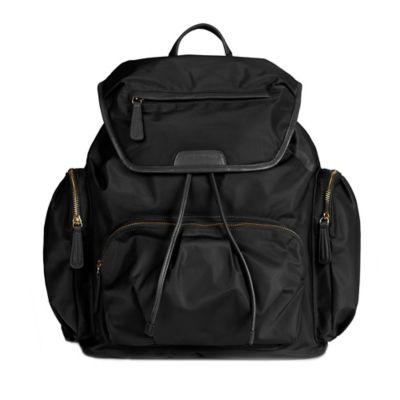TWELVElittle Allure Backpack Diaper Bag in Black