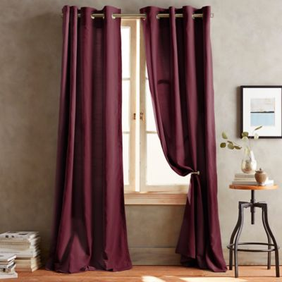 DKNY Duet Grommet 95-Inch Window Curtain Panel in Slate