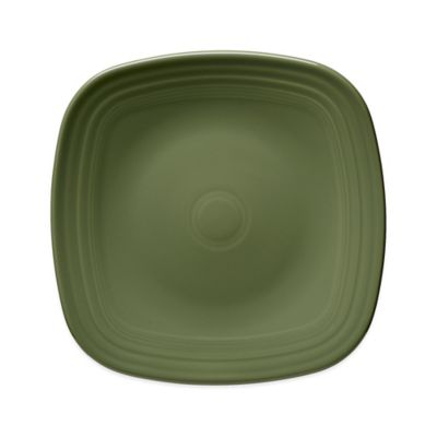 Fiesta® Square Dinner Plate in Sage