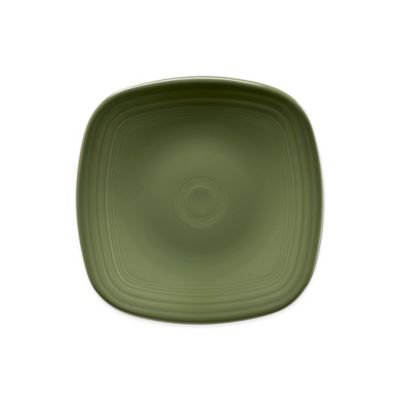 Square Salad Plate in Sage