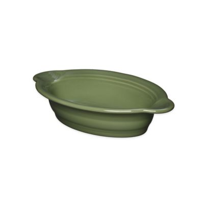 Fiesta® 17-Ounce Oval Individual Casserole Dish in Sage