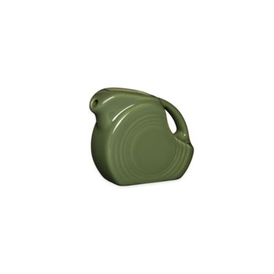 Fiesta® Mini Disk Pitcher in Sage