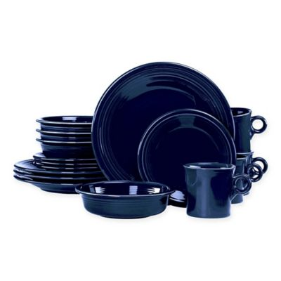 Fiesta® 16-Piece Dinnerware Set in Cobalt