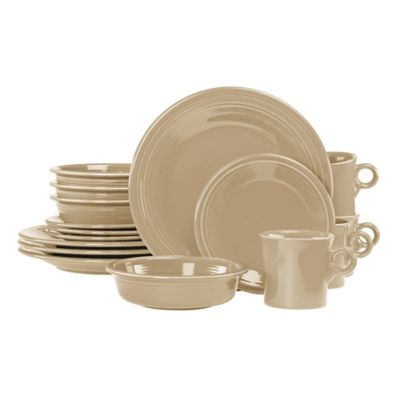 Fiesta® 16-Piece Dinnerware Set in Ivory
