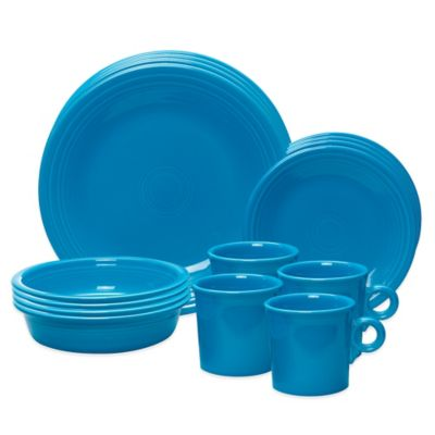 Fiesta® 16-Piece Place Setting in Peacock