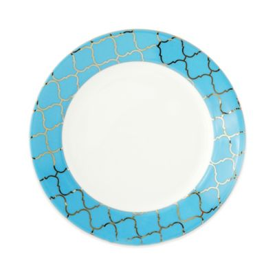 CRU by Darbie Angell Lauderdale Accent Moroccan Salad Plate